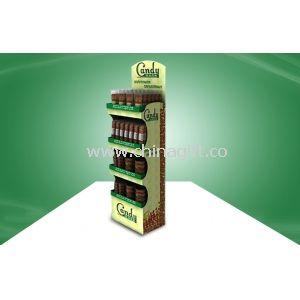Customized Candy POP Cardboard Display With Four Shelf