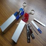 Compact manicure set with keychain small picture