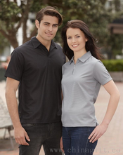 micro waffle polo ladies images