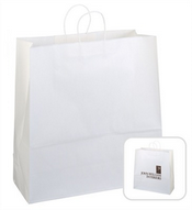 Large Kraft Shopping Bag images