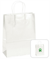White Shopping Bag images
