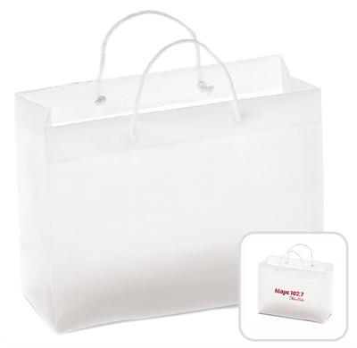 Fleur Plastic Frosted Bag