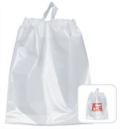 Lila Plastic Carry Bag images