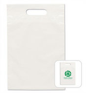 Small Eco Die Cut Plastic Bag images