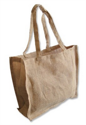 Jute Handle Carry Bag images