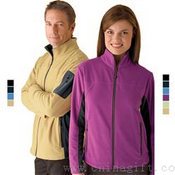 Men's & Ladies Full Zip Custom Micro Fleece Jacket images