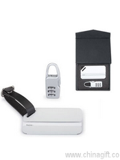 Combination Lock and Luggage Tag images