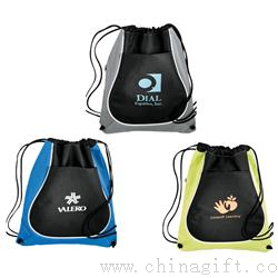 Drawstring Coil Cinch Totes