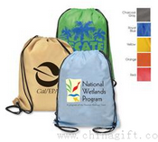 Aero Non Woven Drawstring Backpack - Recyclable images