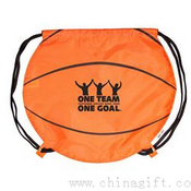 Basketball Drawstring Backpack images