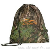 Big Buck Camo Drawstring Backpack images