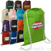 Cotton String-A-Sling Drawstring Backpack images