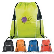 Diamond Drawstring Backpack images
