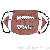 Football Drawstring Backpack Cinch Bags images