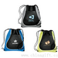Drawstring Coil Cinch Totes small picture