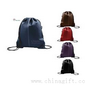 Lamis Drawcord Litchi Leather Like Backsacks small picture