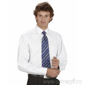 Mens Oxford Check Long Sleeve Shirt images