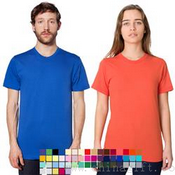 American Apparel Fine Jersey Short Sleeve T-Shirt images