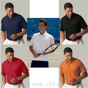 Mens Vansport Textured Tech Polo images