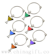 Wine Charms - Cocktail Glass Shape images