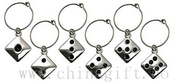 Wine Charms - Dice Shape images
