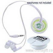 Magnetic Clip Earphone Cord Retainer images