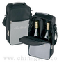 Two Bottle Cooler Bag - Grey small picture