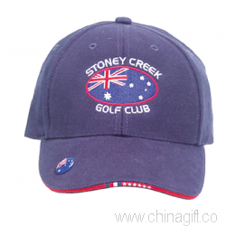Structured  Cap With Magnetic Ball Marker