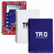 Notepad With PVC Stationery Pouch images