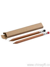 Wooden pen and pencil set images