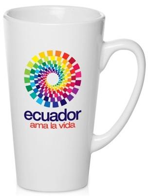 Full Colour V Shaped Mug