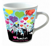 Personalised V Shape Mug images