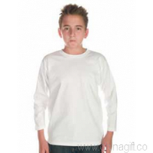 Kids Patriot Long Sleeve Tee White images