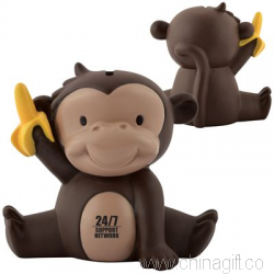 Mickey the Monkey PVC Coin Bank