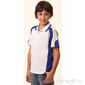 Kids Contrast Polo with Sleeve Panels small picture