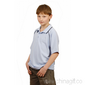 Kids CoolDry Raglan Contrast Polo Shirt small picture
