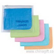 Embossed Supa Cham Chamois/Body Towel In PVC Zipper Pouch images