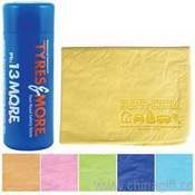Embossed Supa Cham Chamois/Body Towel In Tube images