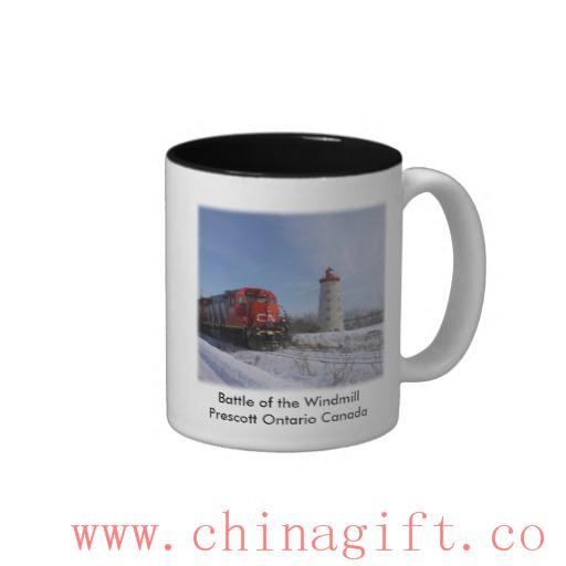 Battle of the Windmill - Prescott Ontario Canada Two-Tone Mug