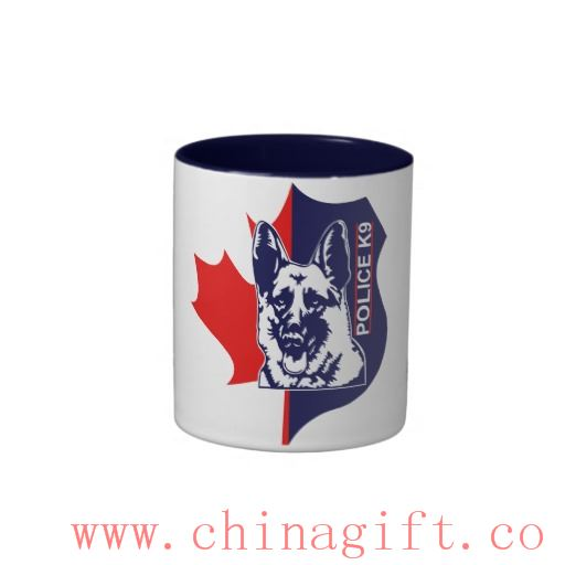 K9 Canada Coffe Mug