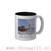 Battle of the Windmill - Prescott Ontario Canada Two-Tone Mug images