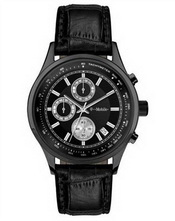 Black Leather Watch images