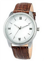 Brown Leather Men's Watch images