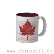 Canada Anthem Cup Souvenir Coffee Cup Canada Mug images