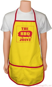Deluxe Bar-B-Que Bib Style Apron images
