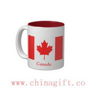 Flag of Canada Two-Tone Coffee Mug images