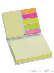Hard cover sticky note book images