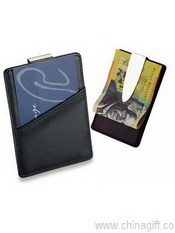 Leather look Business Card Holder images