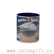 Naval Service of Canada Two-Tone Coffee Mug images