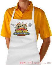 Printed Small Image 100% Polyester Apron images